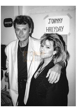 Johnny Hallyday & Samantha Fox
