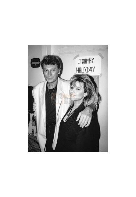 Johnny Hallyday & Samantha Fox