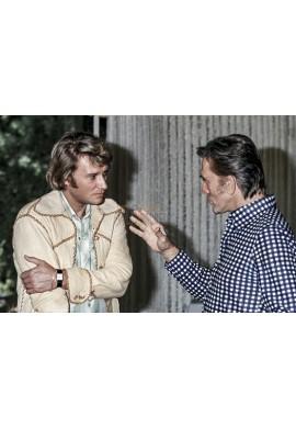 Johnny Hallyday & Kirk Douglas