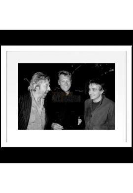 Johnny Hallyday, Serge Gainsbourg & Michel Sardou