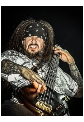 "Reginald Quincy Arvizu ""Fieldy Snuts"" (Korn)"