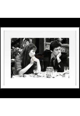 Jane Birkin & Alain Delon