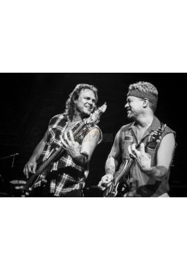 Michael Anthony & Eddie VanHalen (Van Halen)