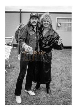 Lemmy Kilmister & Ozzy Osbourne