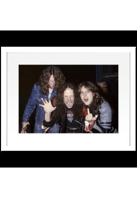 Lars Ulrich, Cliff Burton (Metallica) & Cronos (Venom)