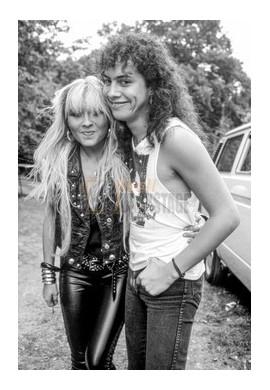 Kirk Hammett (Métallica) & Doro Pesch (Warlock)