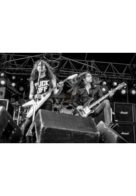 James Hetfield & Cliff Burton (Metallica)