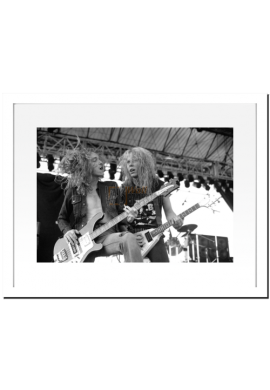 Cliff Burton & James Hetfield (Metallica)