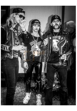 Lemmy, Axl Rose & Duff McKagan