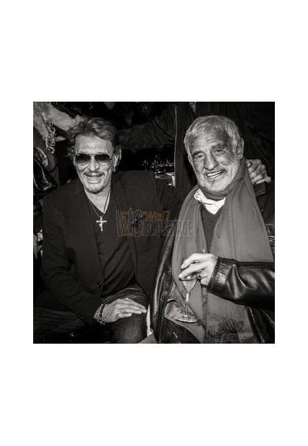 Johnny Hallyday & Jean-Paul Belmondo