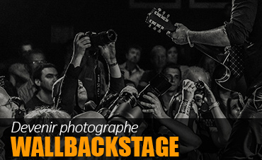 Devenir Photographe WallBackstage