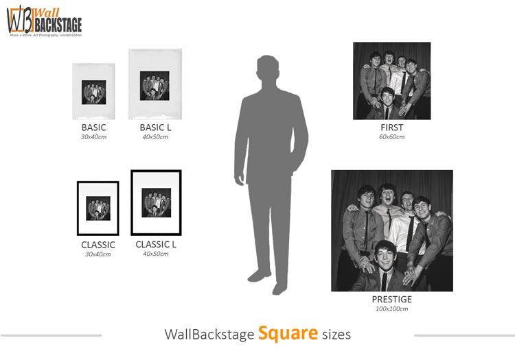 Square sizes